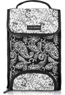 Bolsa Térmica Jacki Design Paisley - Unissex-Preto