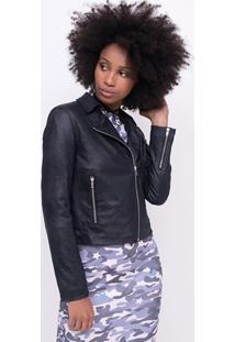 Jaqueta Perfecto Em Camurça