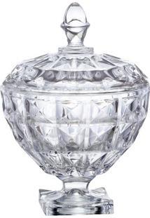 Bomboniere Aquamarine- Cristal- 17,7Xã˜17,5Cm- Fufull Fit