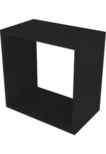 Nicho Quadrado Cubo I Preto