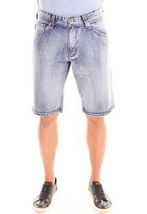 Bermuda Convicto Bolso Bordado Jeans