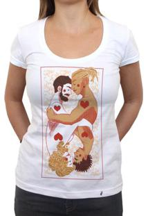 Mais Amor, Por Favor - Camiseta Clássica Feminina