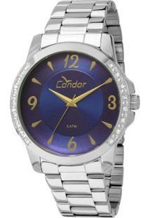 Relógio Condor Feminino Co2035Kon/3A - Feminino-Prata