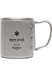 Snow Peak Caneca Ti-Double 300 - Metálico