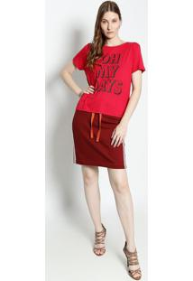 "Camiseta ""Oh My Days"" - Rosa & Pretacanal"