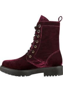 Bota Barth Shoes Gothic Bordô