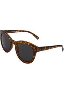 Óculos Ray Flector Westway Sherlock Holmes Rf271Co Feminino - Feminino-Marrom