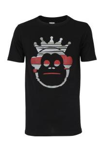 Camiseta Kings Monkey - Masculina - Preto