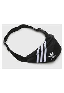 Pochete Adidas Originals Stripes Preta