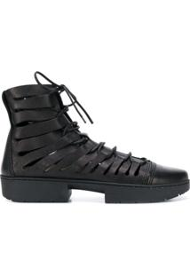 Trippen Ankle Boot 'Fight' - Preto