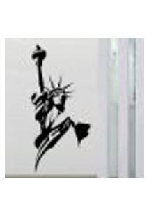 Adesivo De Parede Estatua Da Liberdade 3 - G 56X120Cm