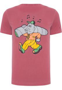 Camiseta Masculina Keep It Rollin - Vermelho