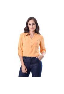 Blusa Lisa Amarela