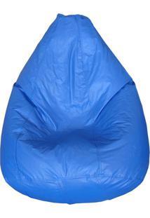 Puff Perinha Pop Azul Royal