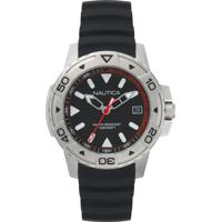 9f294469628 Relógio Nautica Masculino Borracha Preta - Napegt001