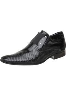 Sapato Malbork Elástico Preto