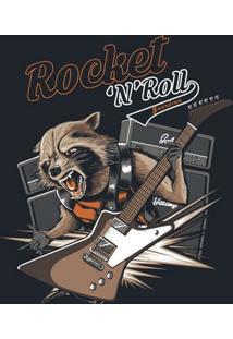 Camiseta Rocket And Roll - Masculina