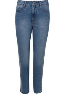 Calça Rosa Chá Bang Jeans Azul Feminina (Jeans Claro, 34)