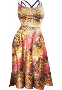 3df7bfba8 Vestido Casamento Estampado feminino | Shoelover