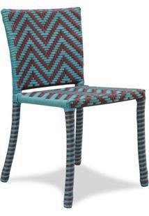 Cadeira Bia Para Área Externa Fibra Sintética Estrutura Alumínio Eco Friendly Design Scaburi