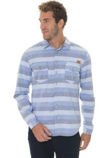 Camisa Cotton Cool Stripes