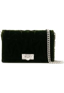 Jimmy Choo Clutch Helia - Verde