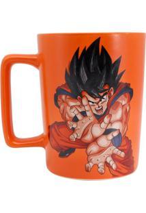 Caneca C/Alça Quadrada Goku - Caneca C/Alça Quadrada Goku - Zona Criativa