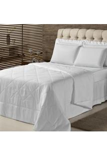Edredom King Plumasul Summer Soft Touch 280X260Cm Branco