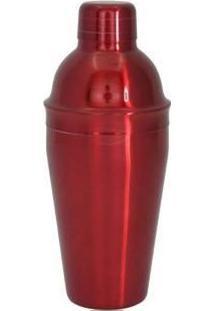 Coqueteleira 550Ml Vermelha - Pedrini