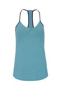 1e87030333a7b ... Camiseta Regata Fila Claire - Feminina - Azul
