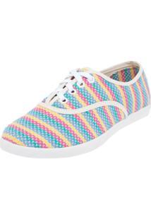 Tênis Mrs Candy Misty Stripes Multicolorido