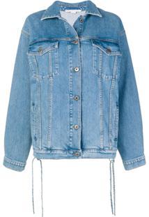 Stella Mccartney Jaqueta Jeans Com Botões - Azul