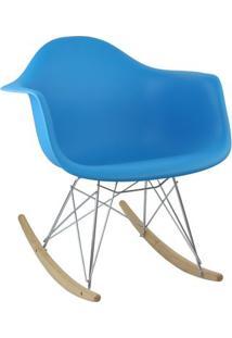 Cadeira Azul Charles Eames Balanco Dar Em Pp