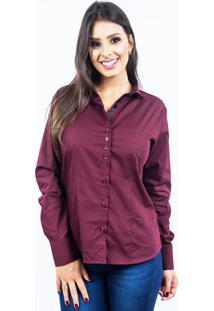Camisa Lupim Donna Bordô