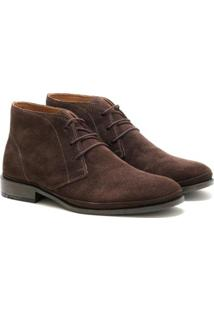 Bota Social Couro Sartre Liverpool Masculina - Masculino-Cafe