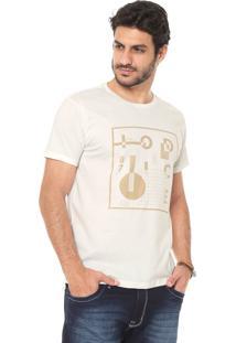 Camiseta Iódice Estampada Off-White