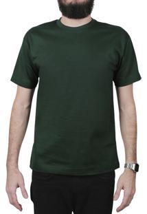 Camiseta Atomum Básica Musgo