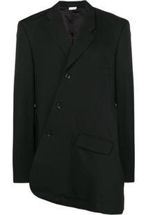 Comme Des Garçons Homme Plus Jaqueta Assimétrica - Preto
