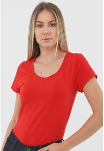 Blusa Dudalina Logo Vermelha - Kanui