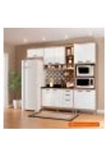 Cozinha Compacta Sicília I 9 Pt 3 Gv Argila E Branca