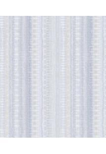 Shark Metais Papel De Parede Texturizado Azul & Branco 1000X52Cm Shark