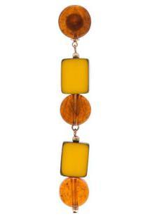 Brinco Unitário Eridanus Twin Solo - Amarelo