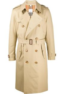 Burberry Kensington Long Trench Coat - Neutro
