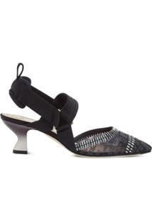 Fendi Sapato Colibri - Preto