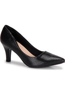 Sapato Scarpin Facinelli Cobra