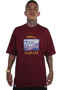 Camiseta Wanted Ind Garam Vinho