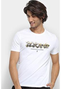 Camiseta Zoomp Unknown Masculina - Masculino-Branco
