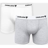 fa3984577 Kit Cueca Boxer Cavalera 2 Peças - Masculino