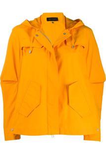 Mr & Mrs Italy Jaqueta Com Capuz - Amarelo