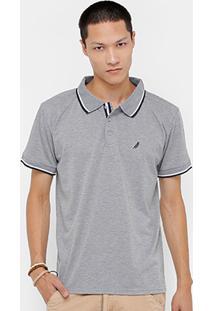 Camisa Polo Bluebay Piquet Frisos Masculino - Masculino